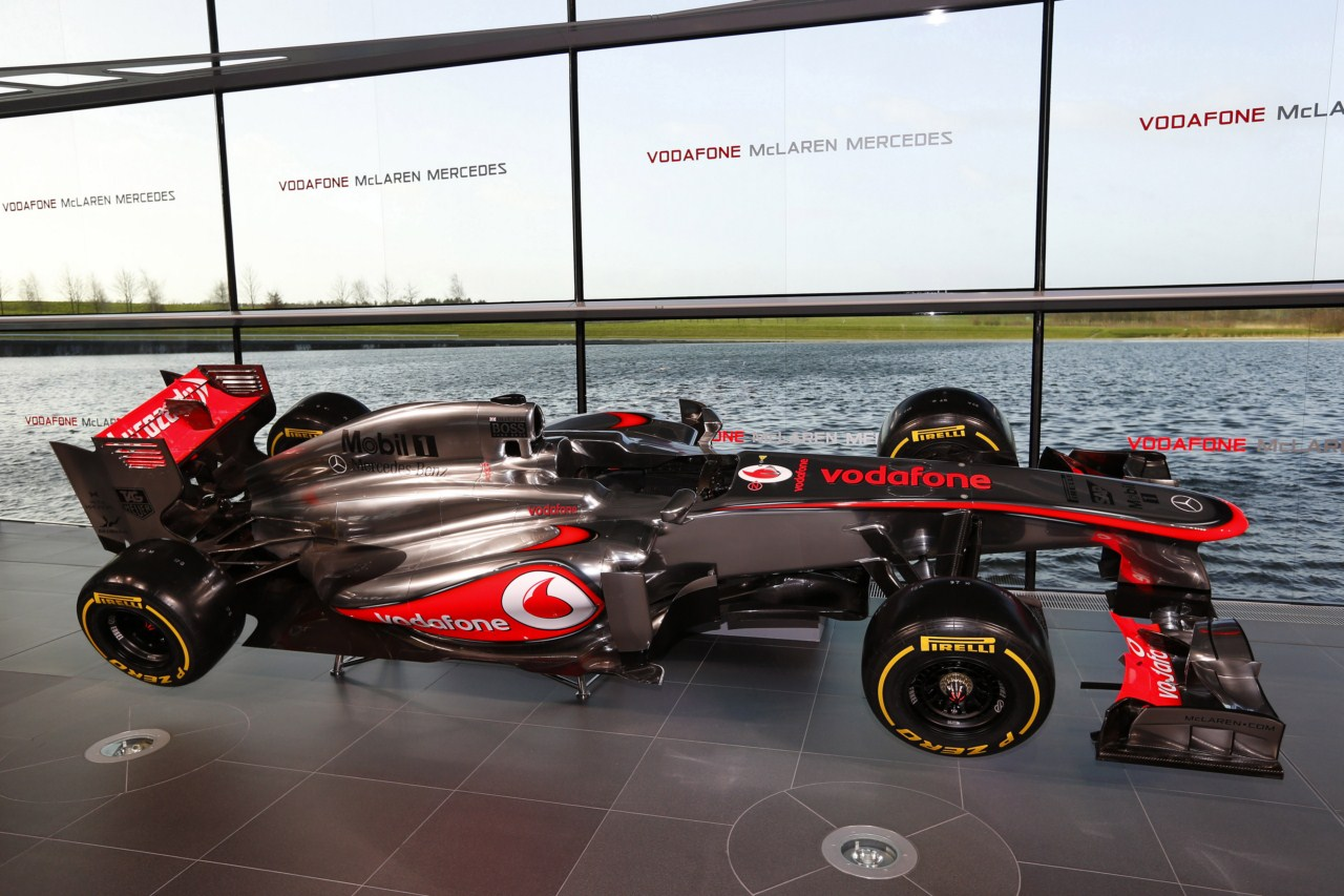 Avanzamos los datos técnicos del nuevo Vodafone McLaren ...