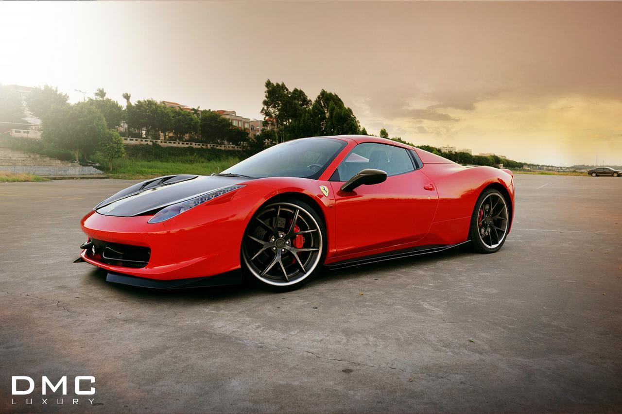 2021 Ferrari 458 Spider Model