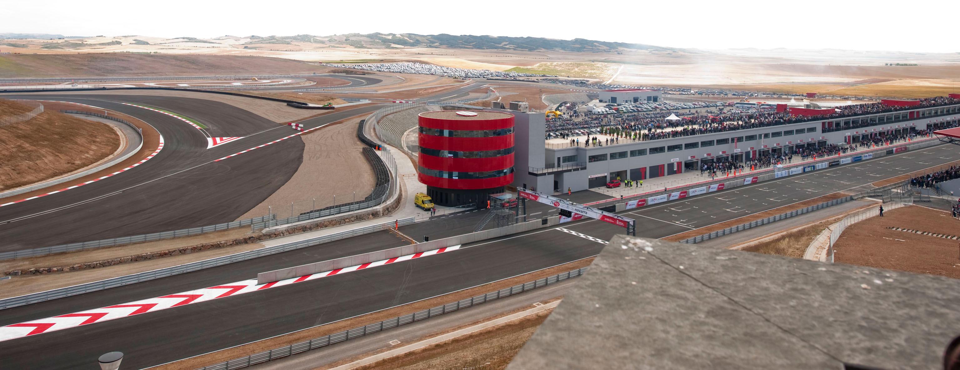 Circuito Los Arcos : El circuito de los arcos acoge la quinta prueba del cev