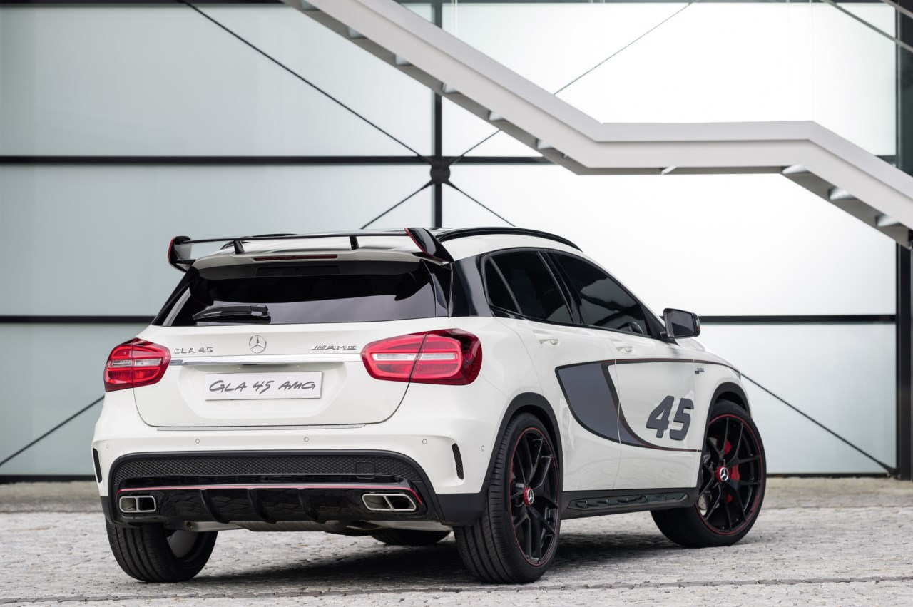 Mercedes benz gla 45 amg concept revista del motor for Mercedes benz gla 45 amg