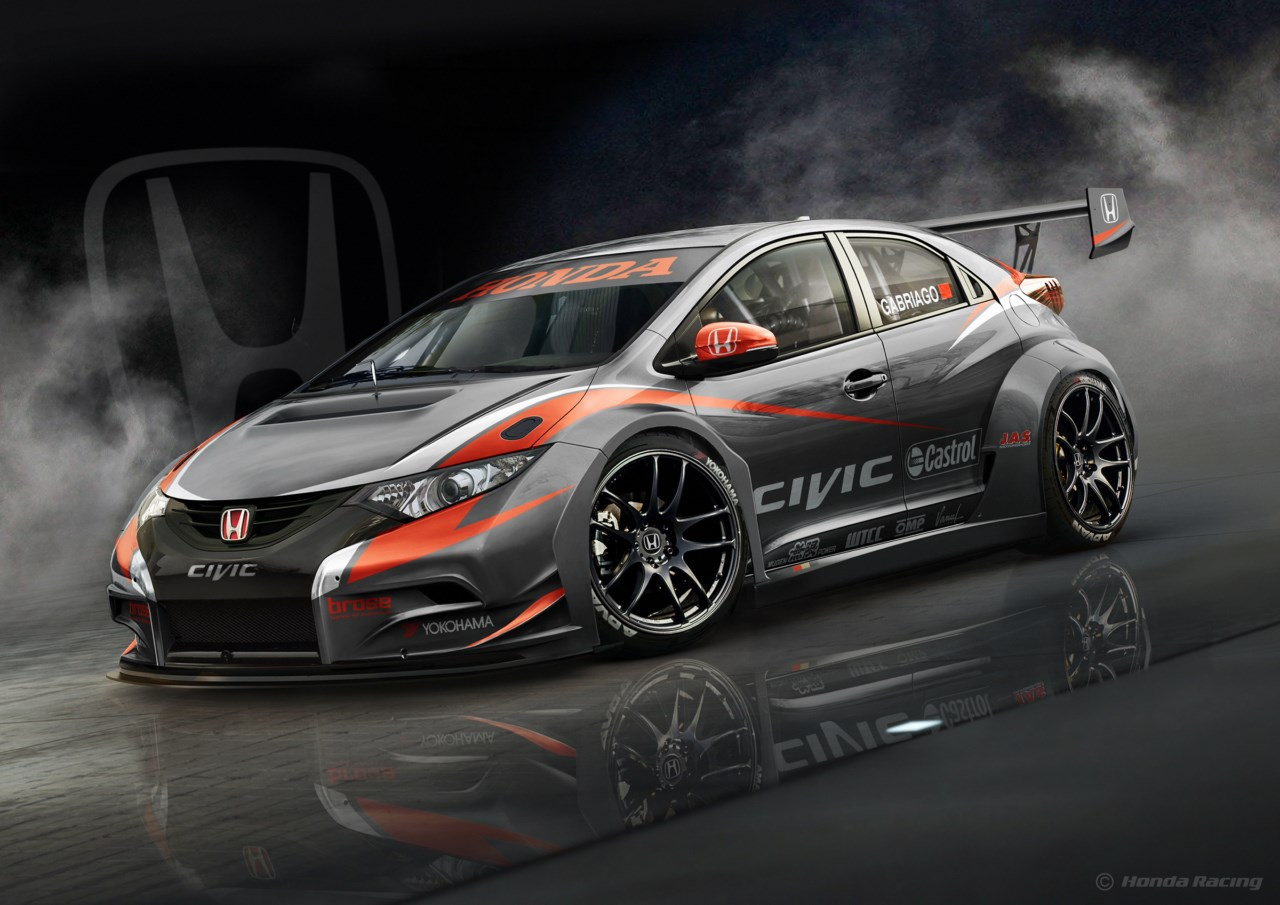 nuevo honda civic wtcc 2014 revista del motor. Black Bedroom Furniture Sets. Home Design Ideas