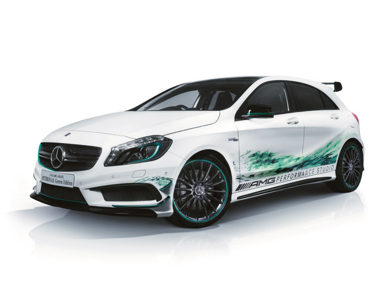 Mercedes benz a 45 amg petronas green edition revista for Mercedes benz metairie la