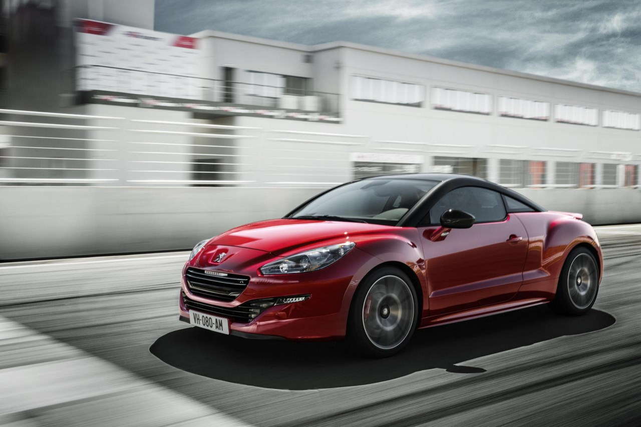 peugeot rcz r desde euros revista del motor. Black Bedroom Furniture Sets. Home Design Ideas