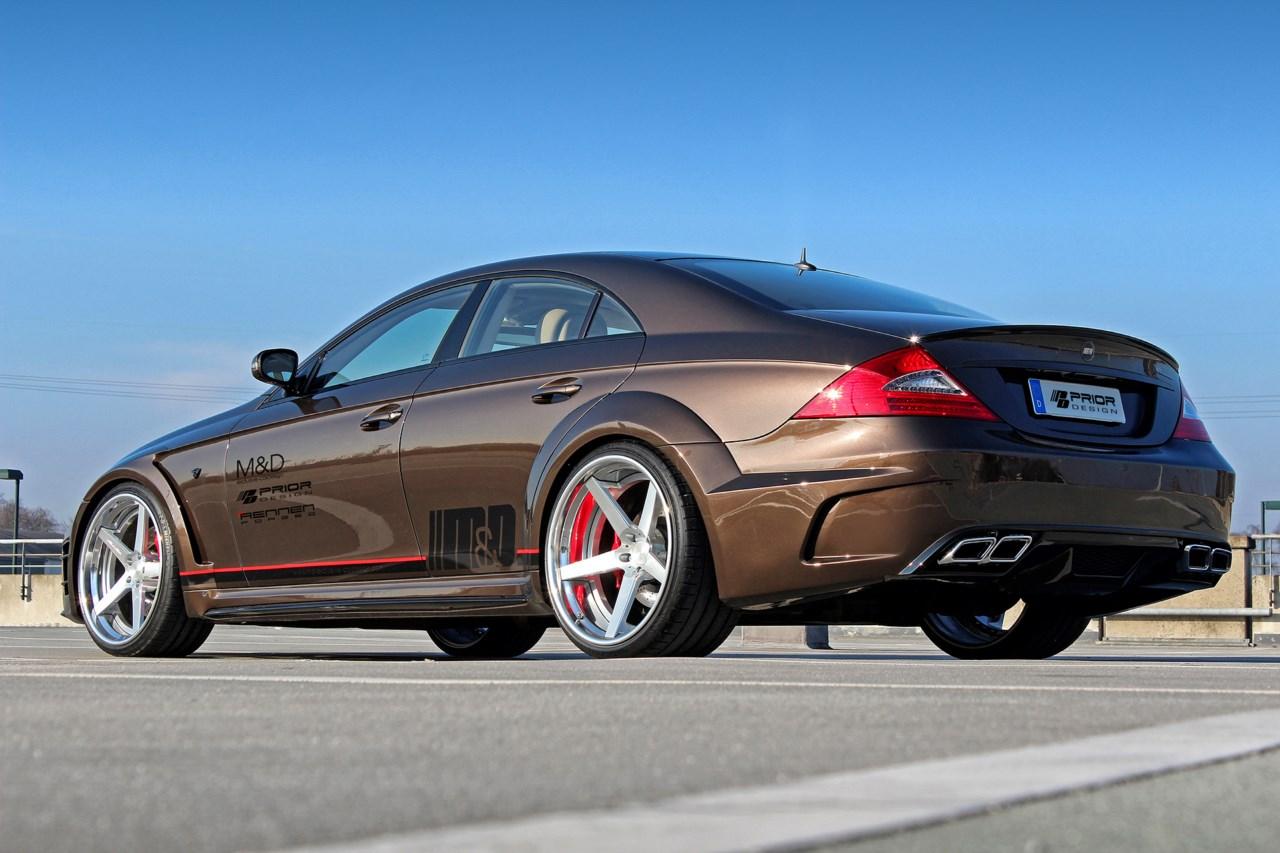 Kit de prior design para el mercedes benz cls revista for Mercedes benz design