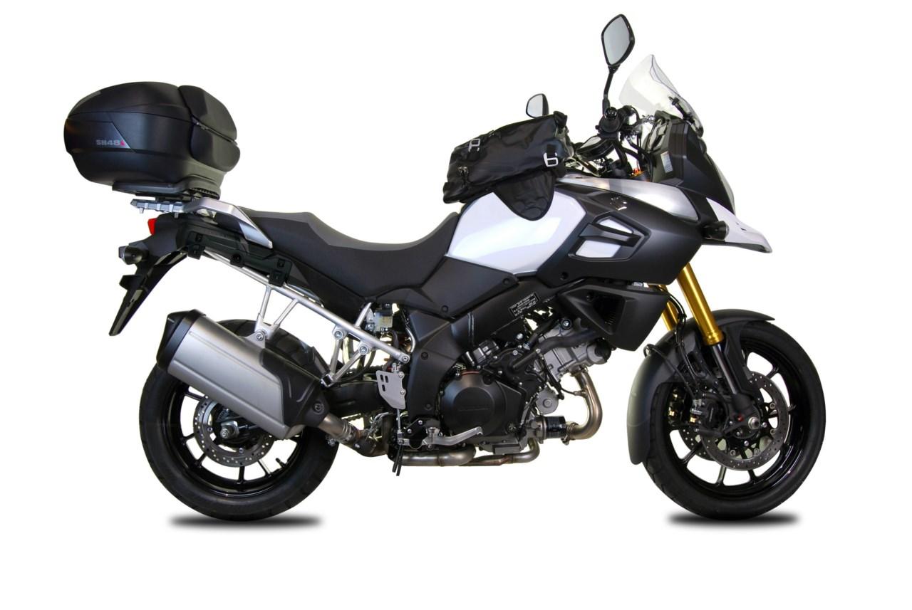 SHAD presenta sus accesorios para la Suzuki V-Strom