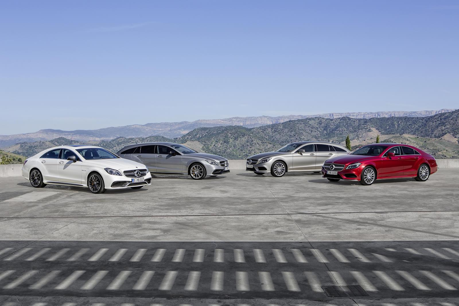 Ya la venta la nueva gama mercedes benz cls y cls shooting for Mercedes benz metairie la