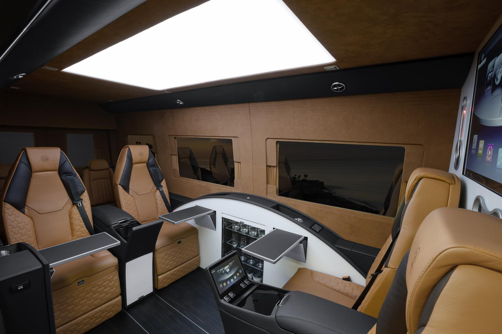 Brabus business lounge revista del motor - The mobile office working on two wheels ...
