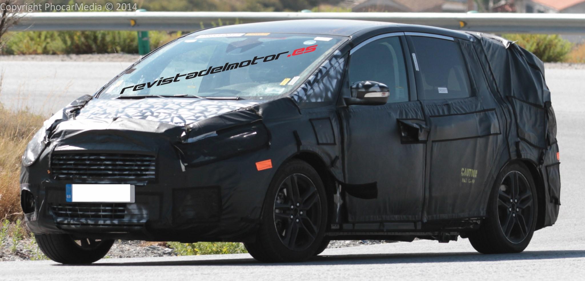 Cazado el prototipo del futuro ford s max