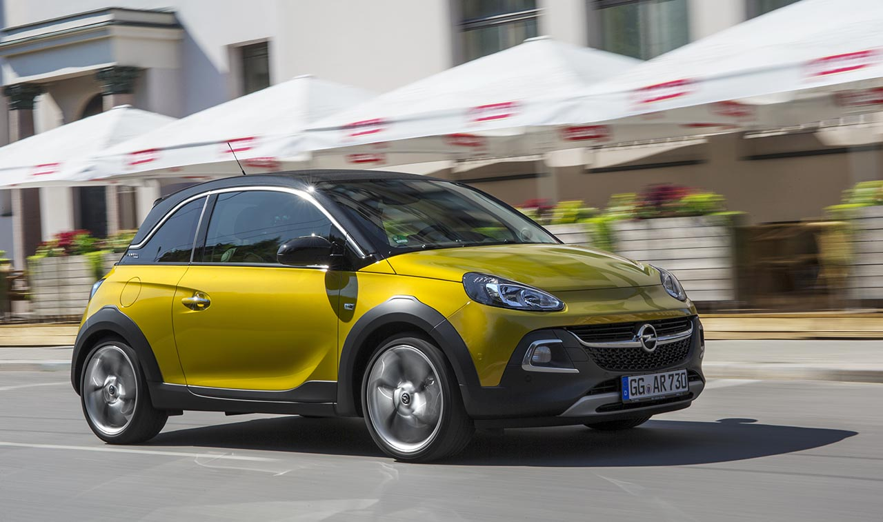 contacto nuevo opel adam rocks revista del motor. Black Bedroom Furniture Sets. Home Design Ideas