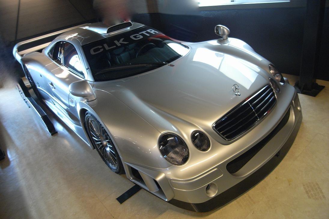 Un Mercedes-Benz CLK GTR a la venta