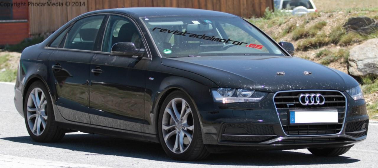 Cazada la mula del nuevo Audi A4