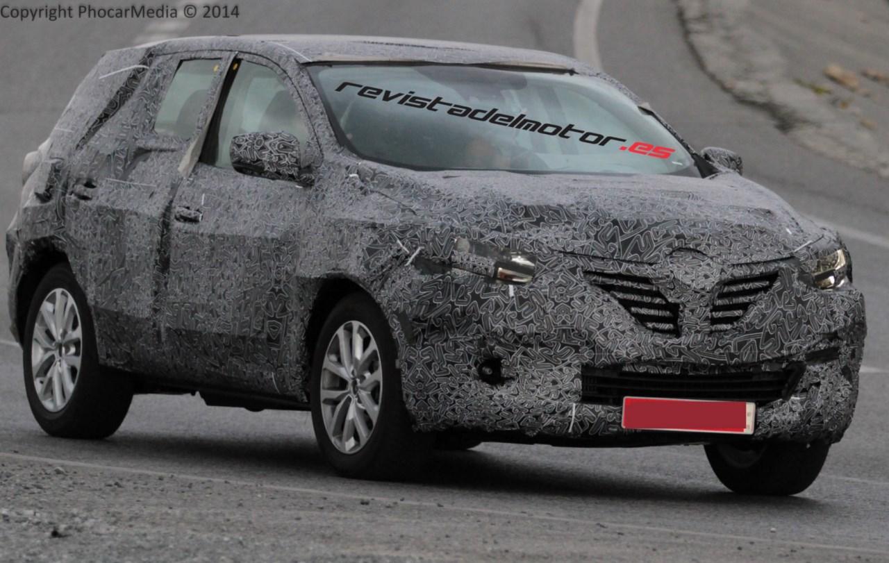 Ya rueda el sustituto del Renault Koleos