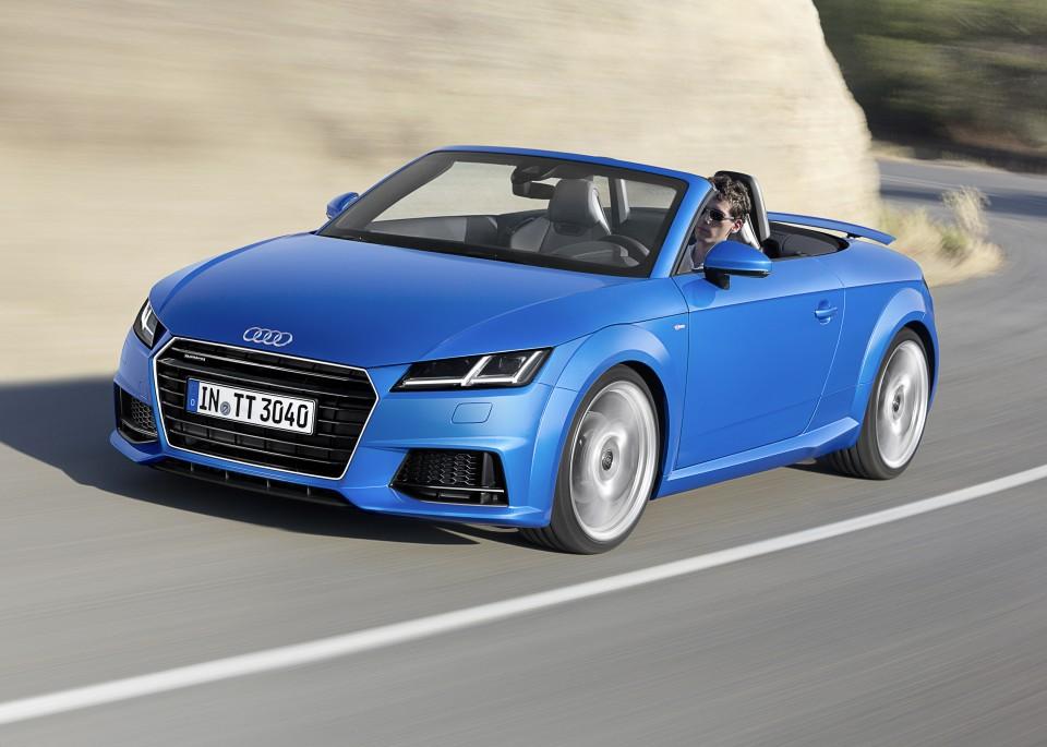 Audi Tt Roadster Y Tts Roadster 2014 Revista Del Motor