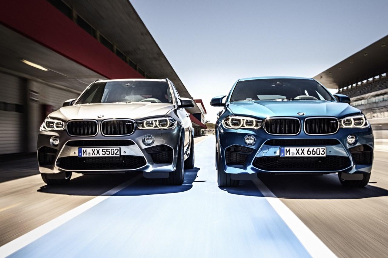 Nuevos BMW X5 M y X6 M