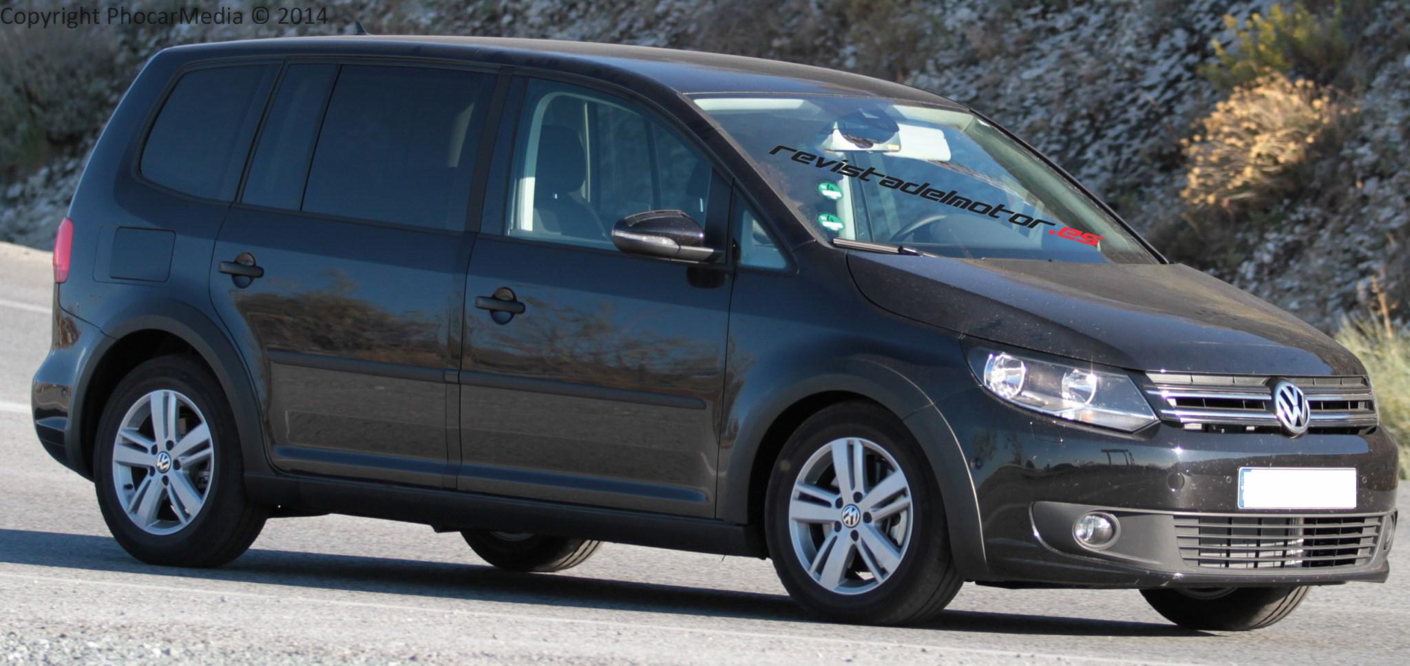 Volkswagen rueda mulas del futuro Touran
