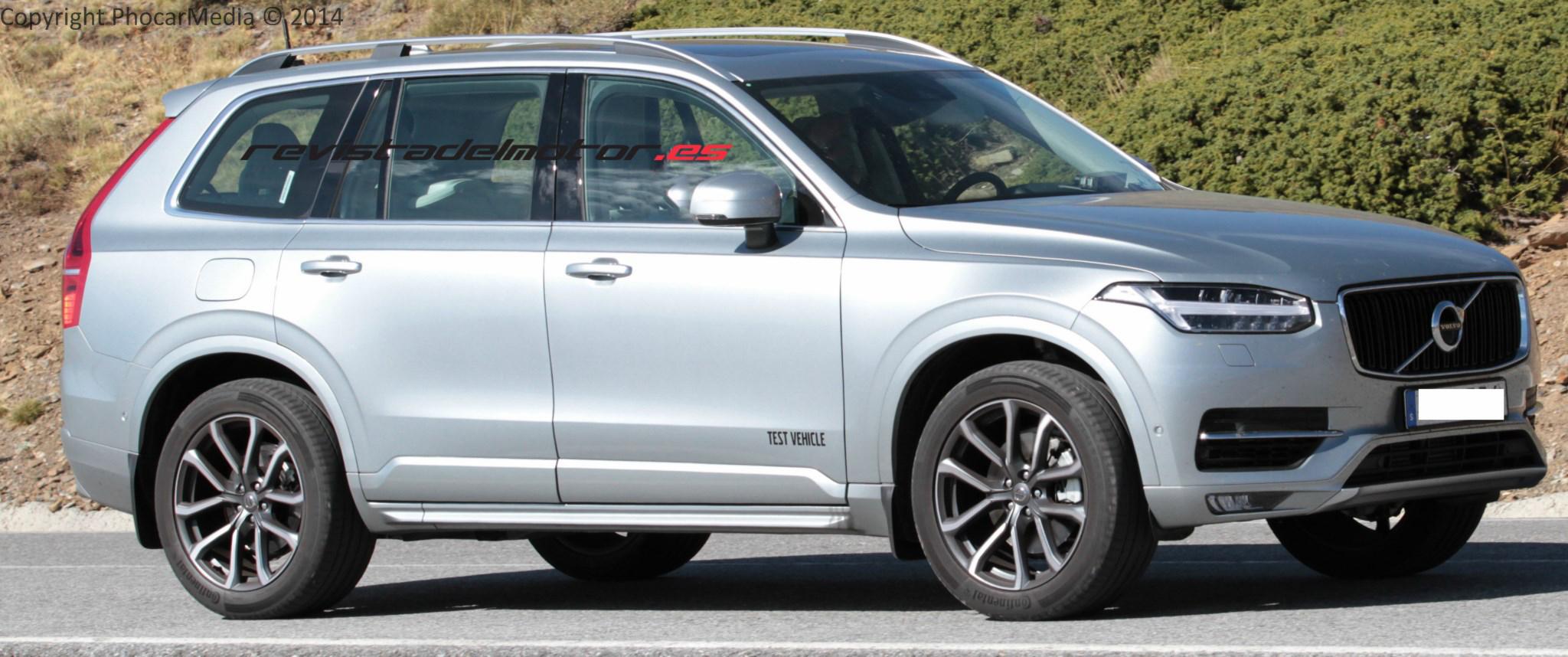 Volvo estudia a la competencia para mejorar el XC90