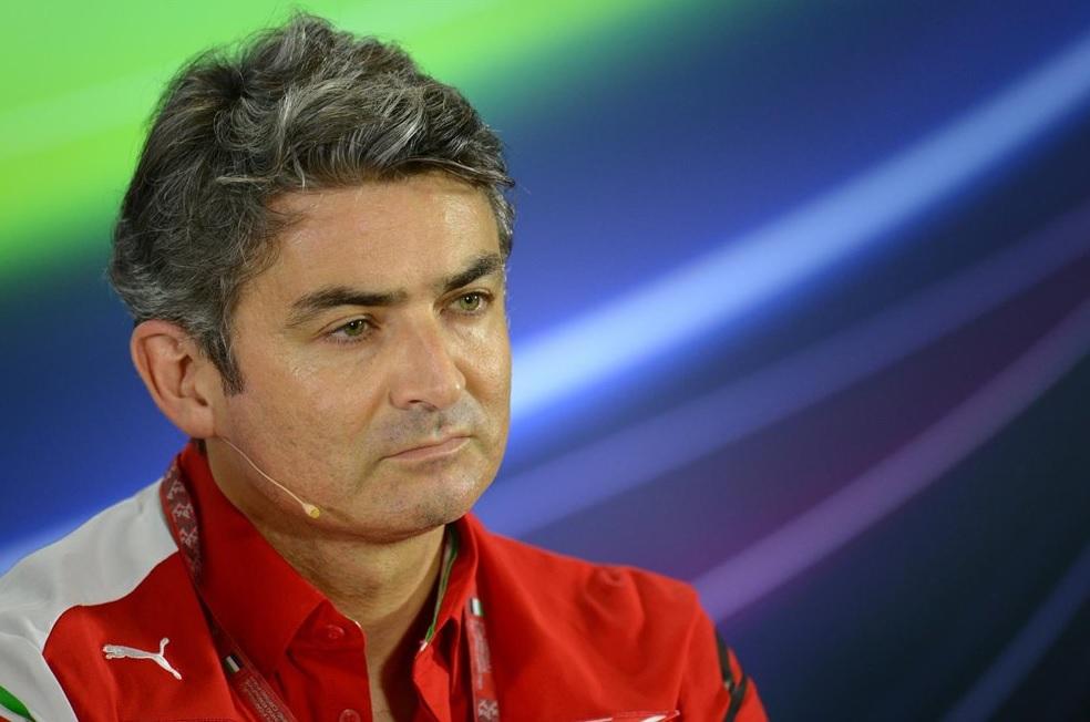 Marco Mattiacci sale de Ferrari
