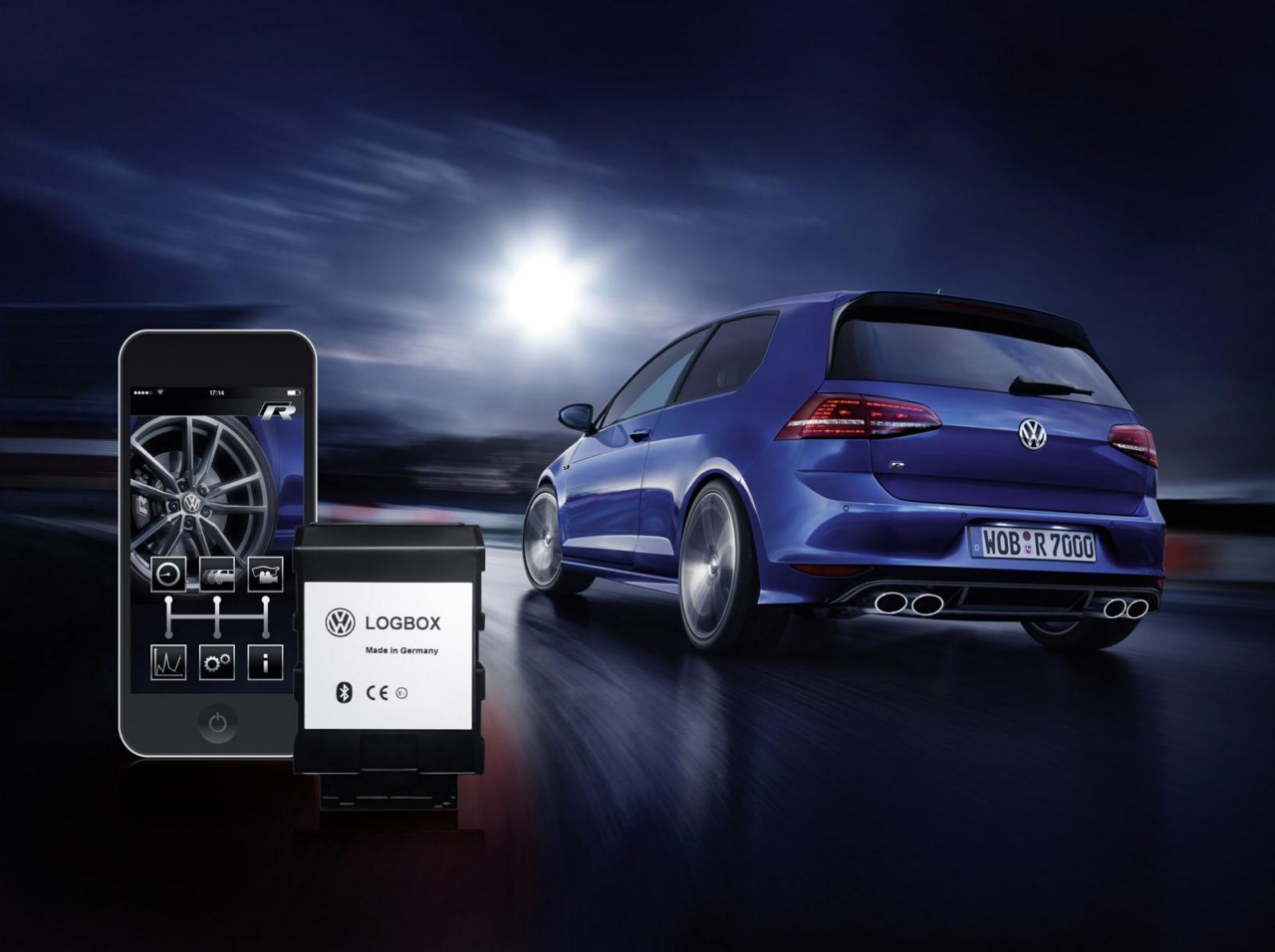 Volkswagen Accesorios lanza las aplicaciones RaceApp y LogBox
