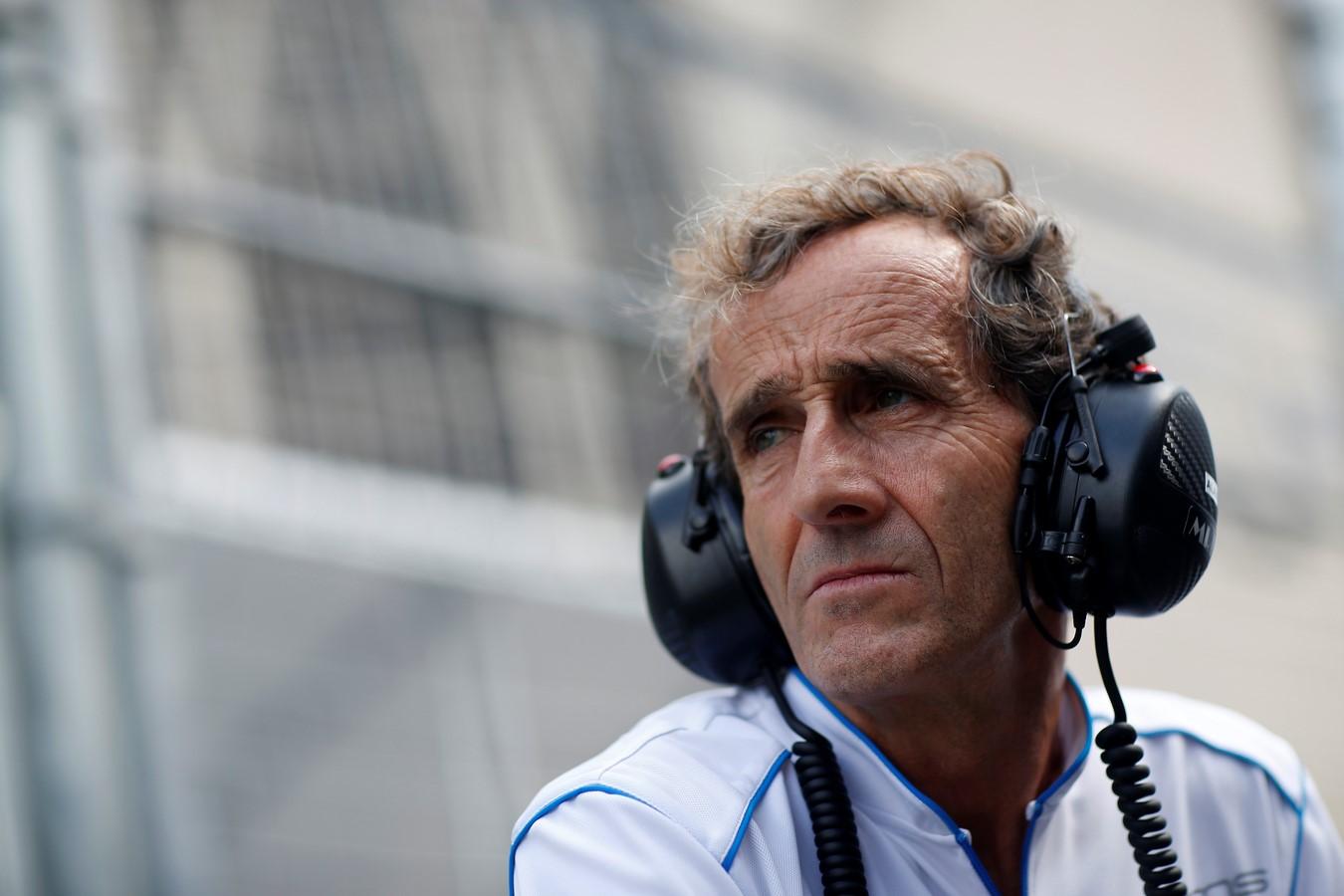 """Alain Prost: """"pilotaré un Fórmula E"""""""