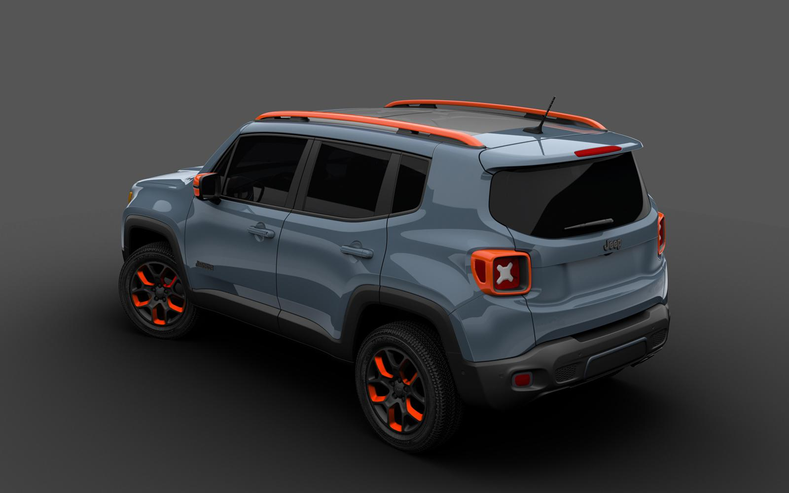 Mopar presentará en el Salón del Automóvil de Detroit dos Jeep Renegade personalizados con sus accesorios.