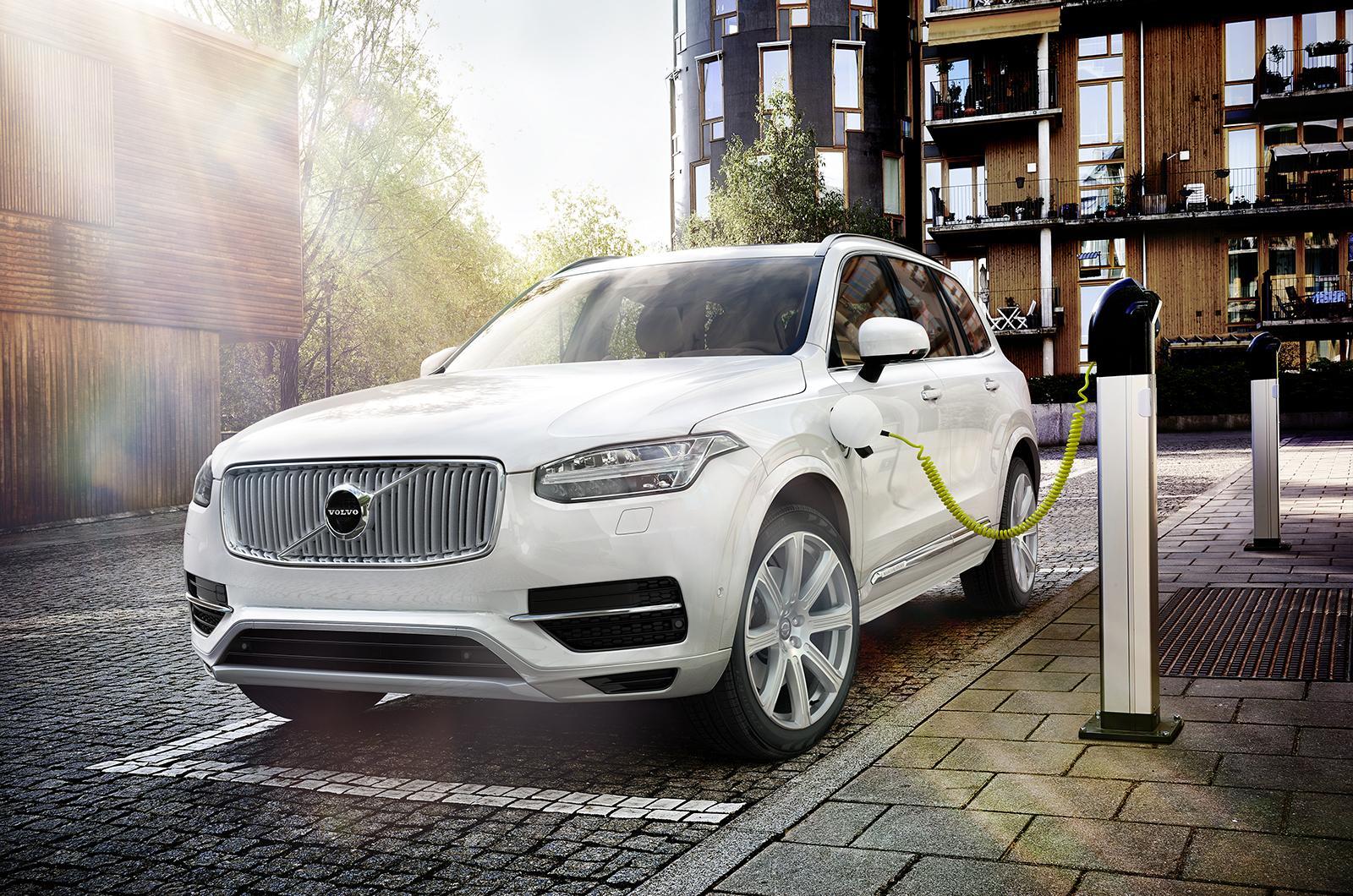 Volvo apostará por los Plug-in Hybrid