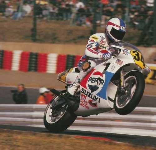 Kewin  Schwantz nos habla de GP Bike Legends