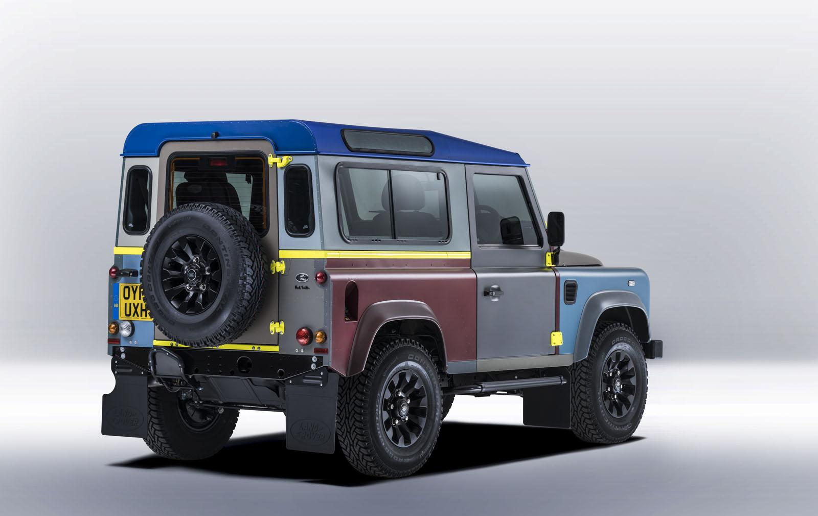Land Rover crea un Defender único para Paul Smith
