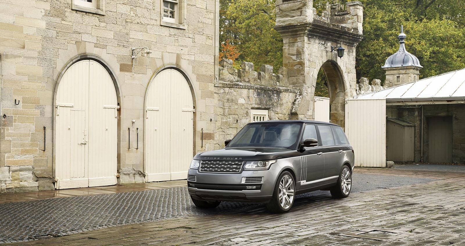 Land Rover desvela el Range Rover SVAutobiography