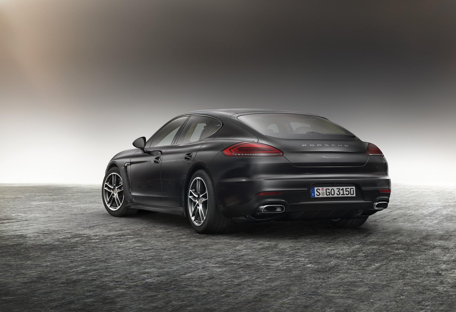 Porsche desvela un Panamera con más equipamiento