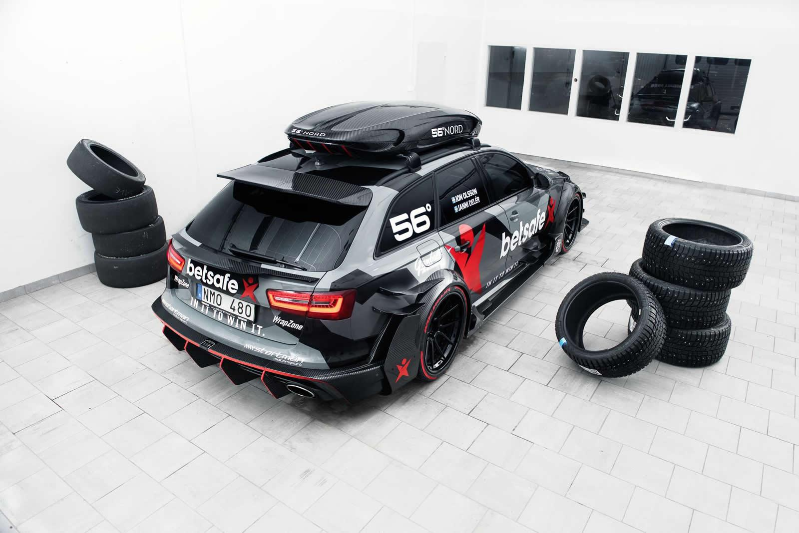 el nuevo audi rs 6 dtm de jon olsson revista del motor. Black Bedroom Furniture Sets. Home Design Ideas
