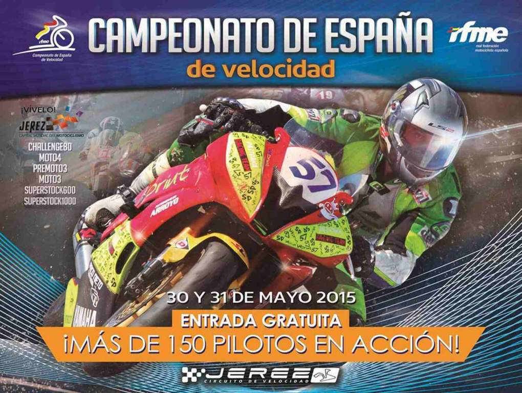 El campeonato de velocidad de la RFME llega a Jerez, previa y horarios