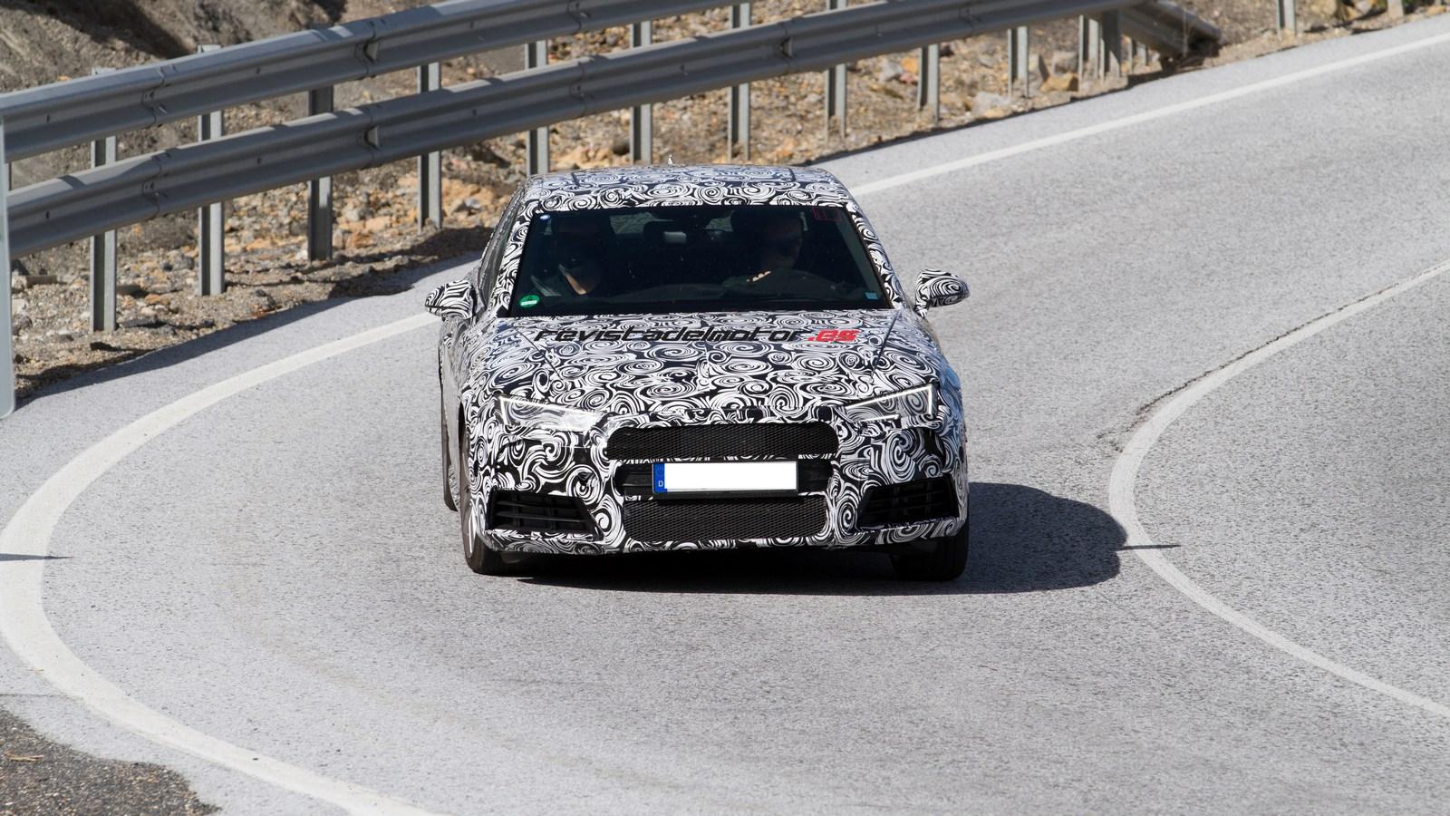 Cazamos a Audi probando el nuevo S4