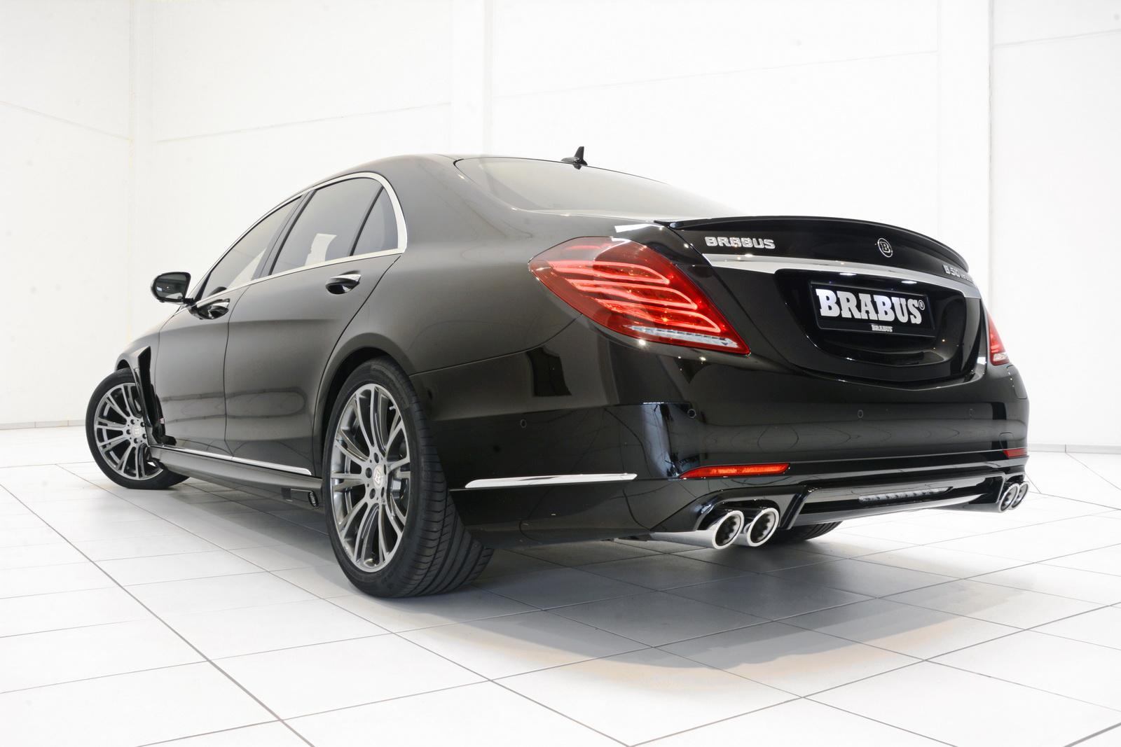 Brabus le da más vida al Mercedes-Benz S500 Plug-In Hybrid