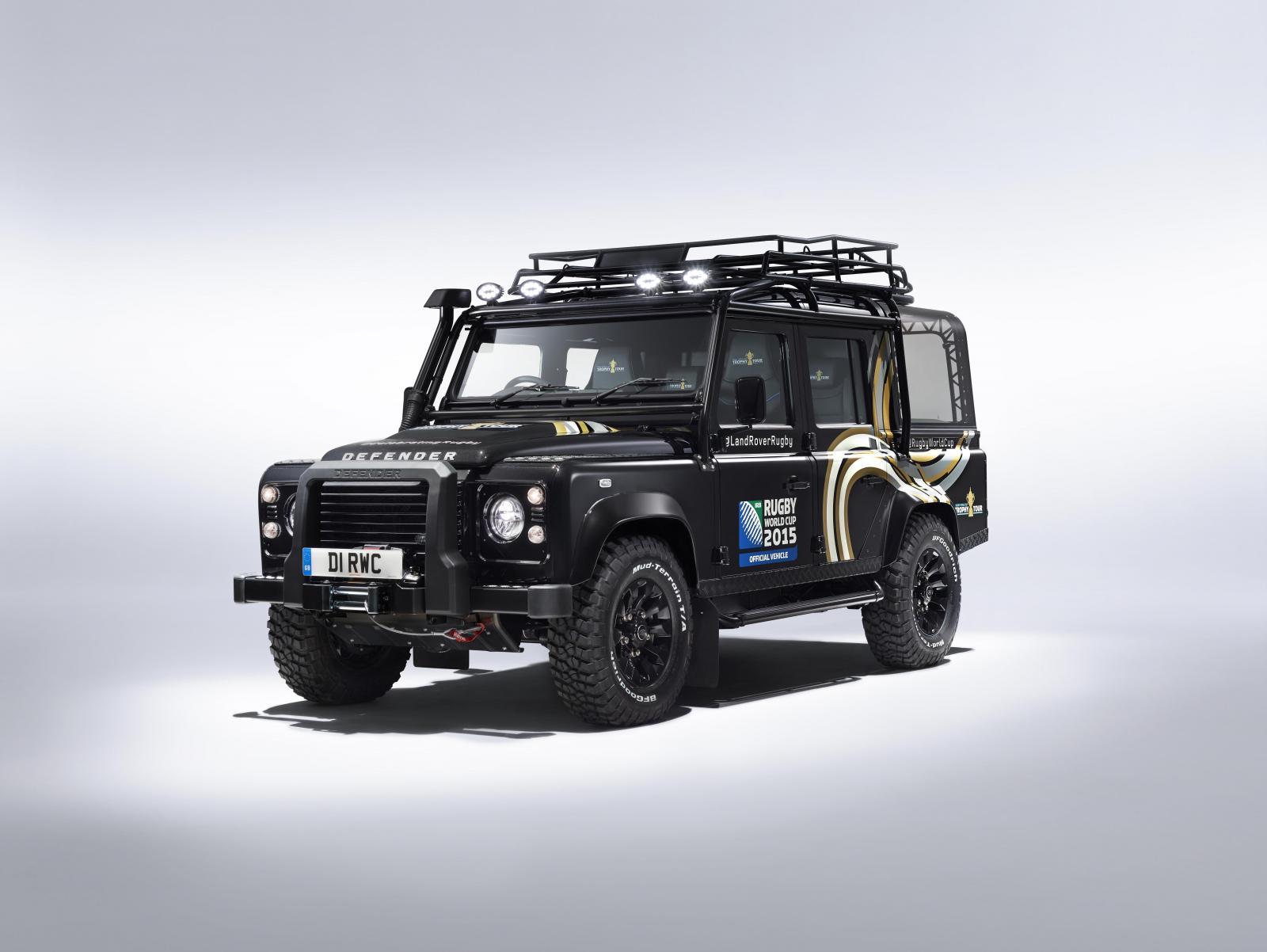 El Land Rover Defender estará en el mundial de rugby ...