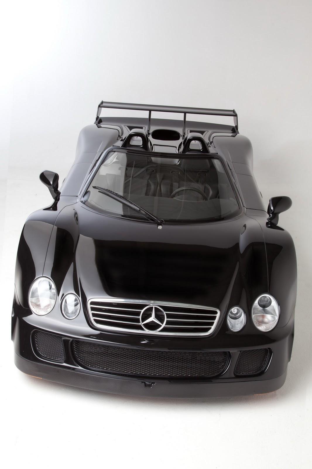 Mercedes Benz Clk Gtr Roadster 1 Revista Del Motor