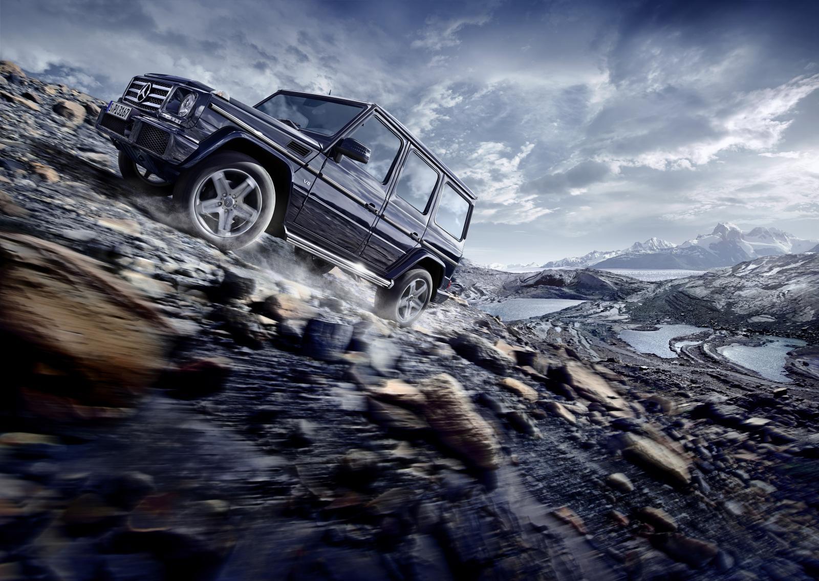 Mercedes-Benz le hace un lavado de cara al Clase G