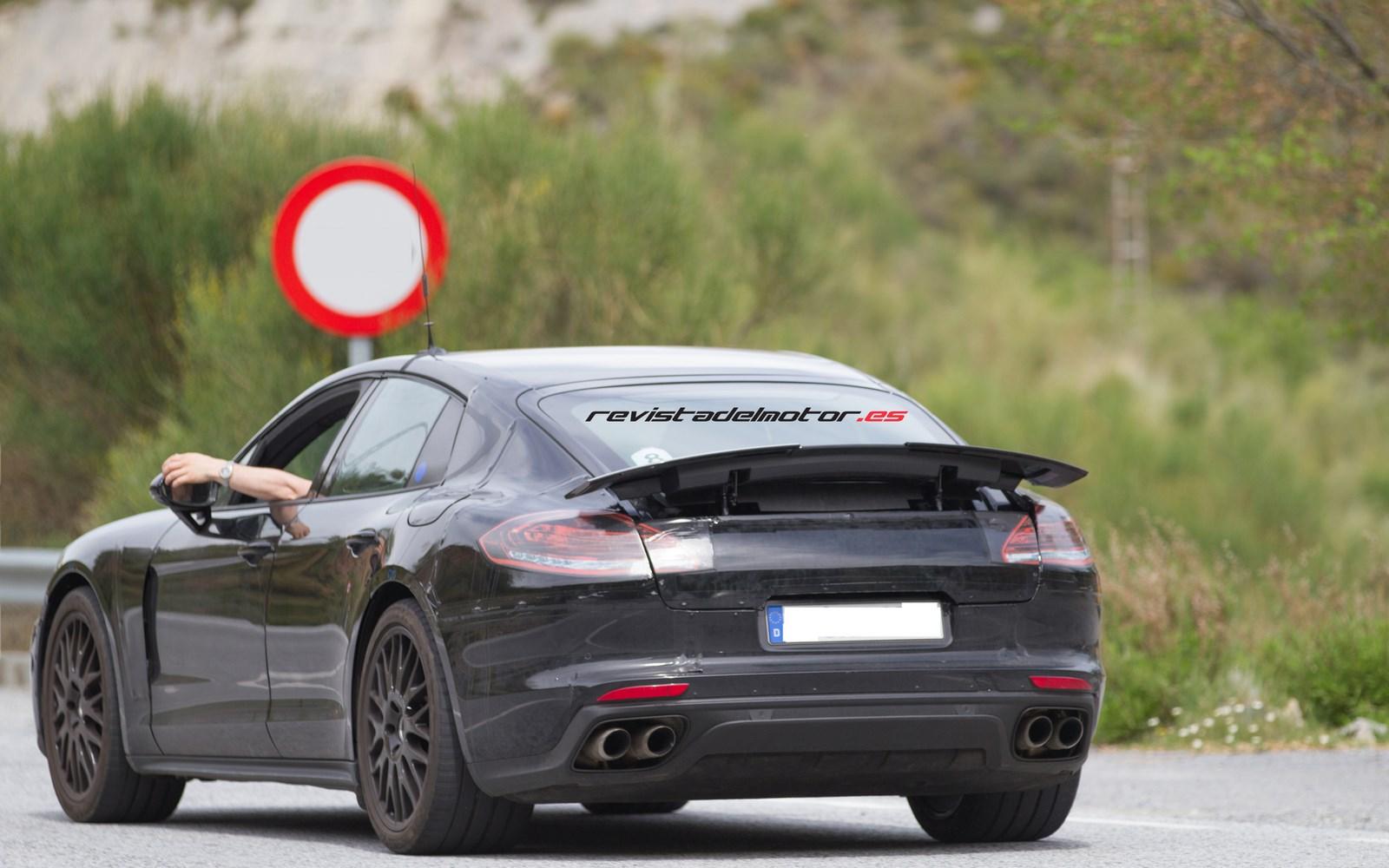 Cazado el nuevo Porsche Panamera