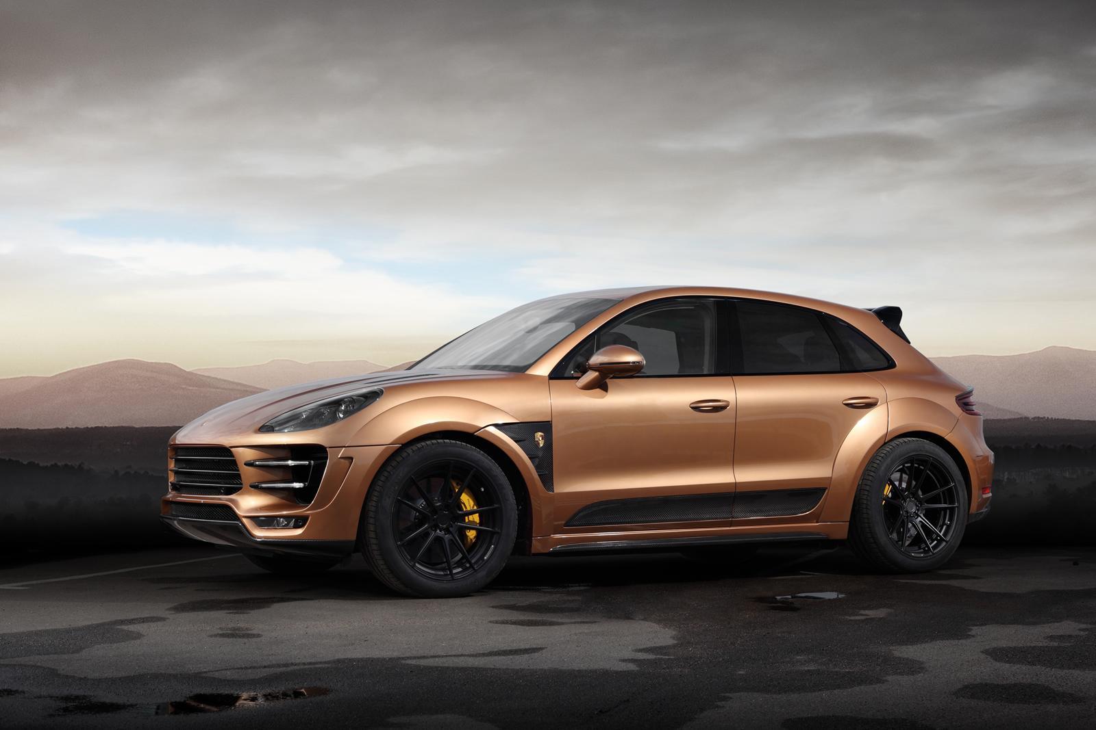 TOPCAR y su Porsche Macan de oro