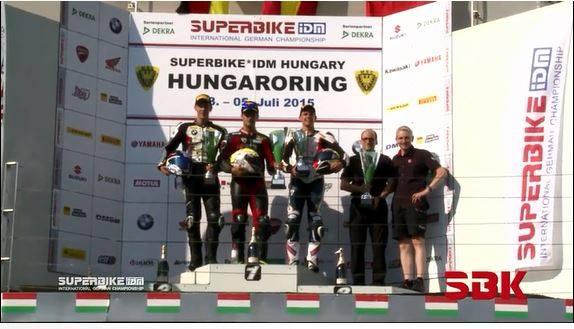 Xavi Forés consigue el triunfo en Hungaroring
