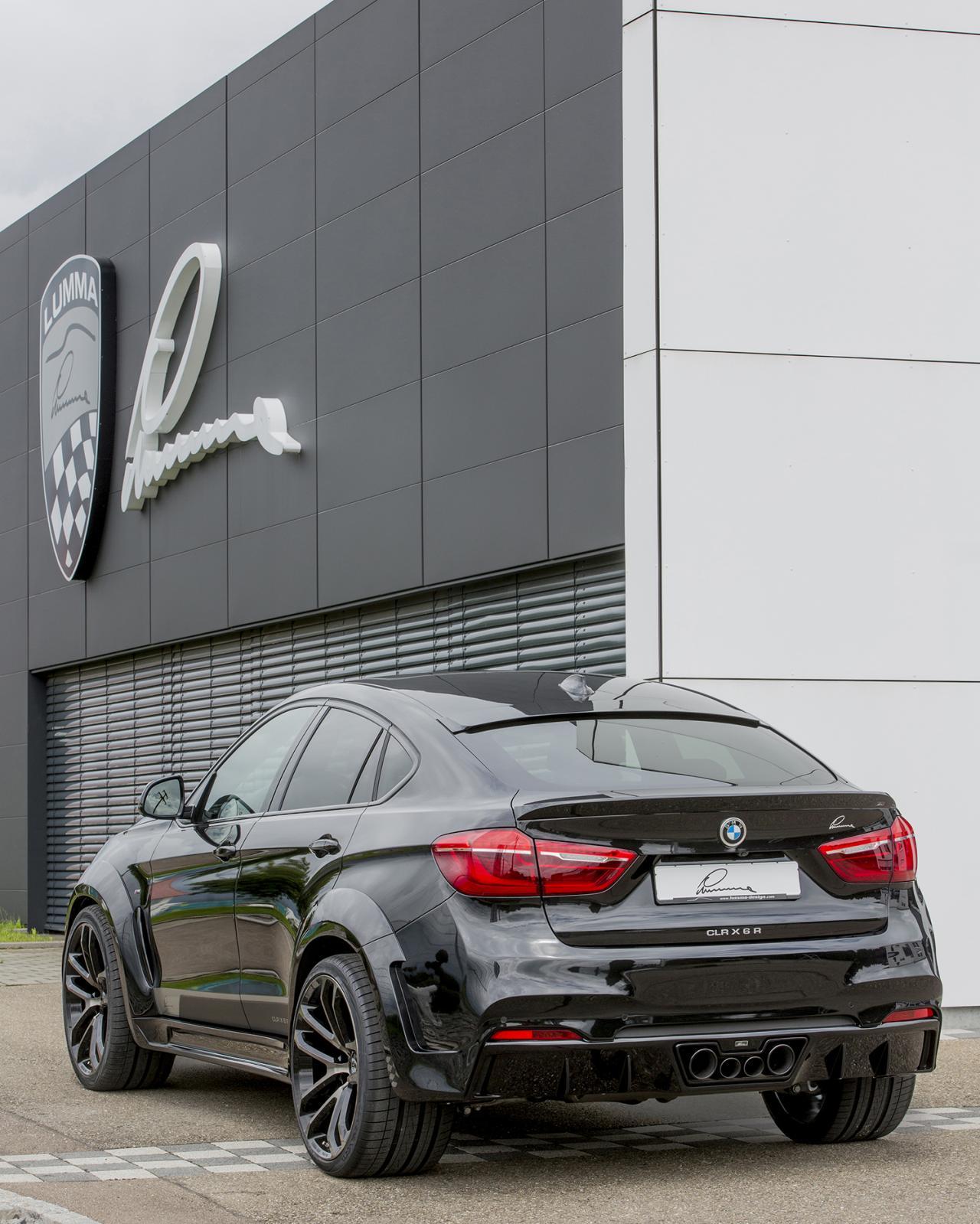 Bmw X6 Xdrive50i Review: Lumma Design Presenta Un Agresivo BMW X6