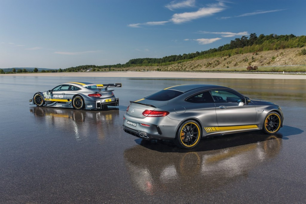 Special Model Mercedes-AMG C 63 Coupé Edition 1 and the Mercede