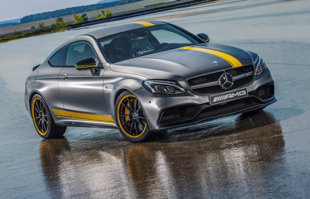 Special Model Mercedes-AMG C 63 Coupé Edition 1, designo Magno