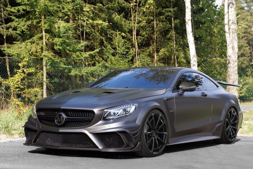 Mercedes-AMG S63 Coupe Black Edition by Mansory 1
