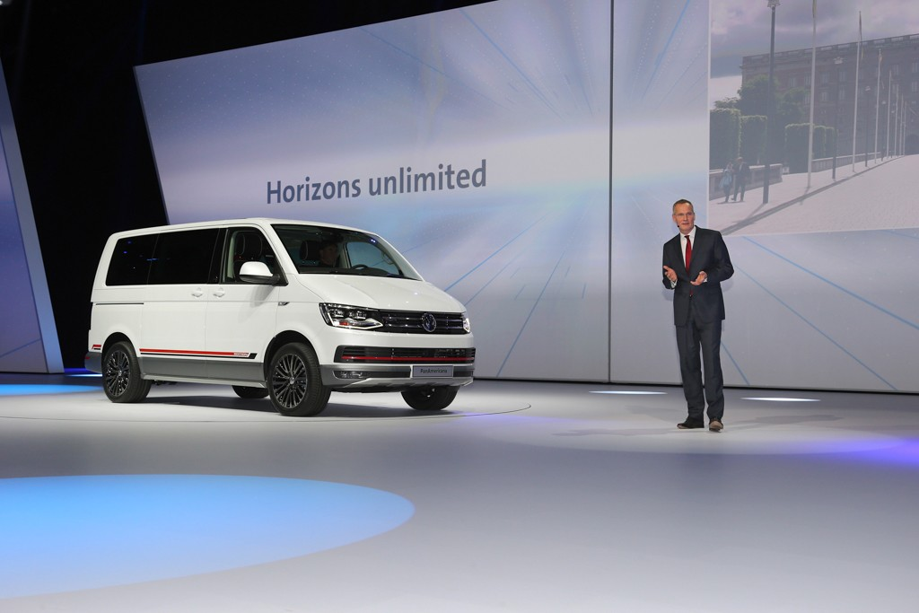 "Volkswagen Group Night ?On the Move"", IAA Frankfurt 2015"