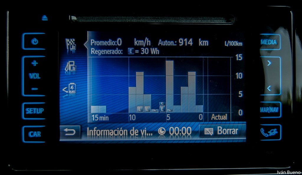 Toyota Auris Hybrid Feel! interior (15)