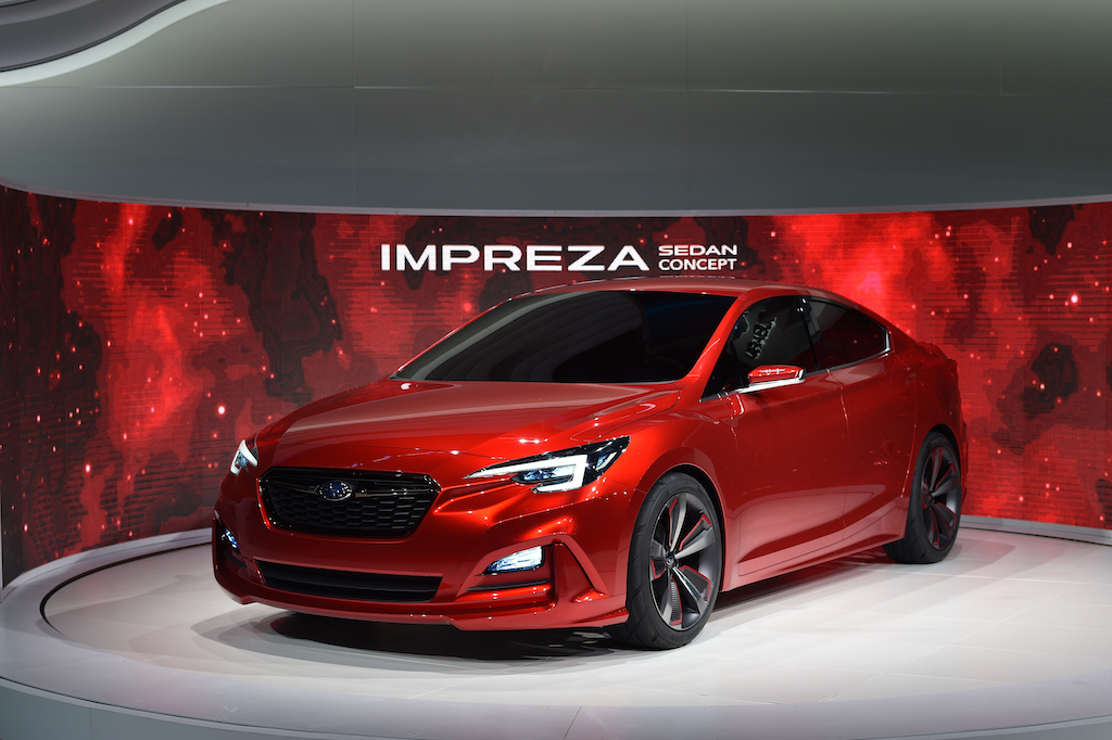 Subaru impreza Concept 2015