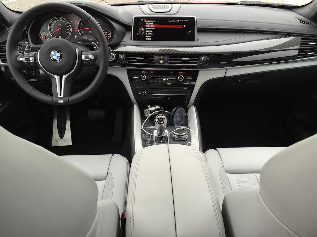 BMW_X6_interiores61. El interior del BMW X6