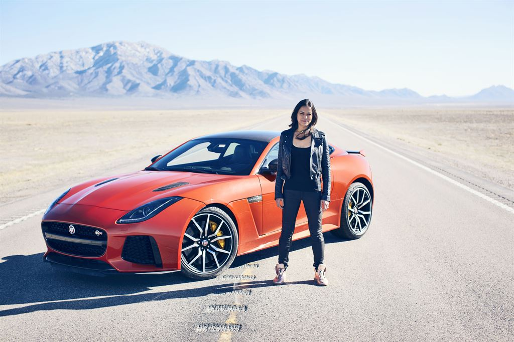 Jag_FTYPE_SVR_Michelle_Rodriguez_Drive_230316_02_LowRes