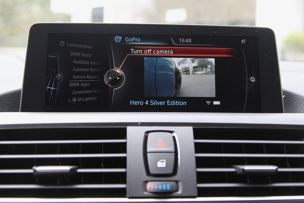 La app BMW M Laptimer permitirá controlar una GOPRO
