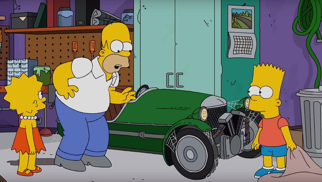 Morgan 3 Wheeler Los Simpson